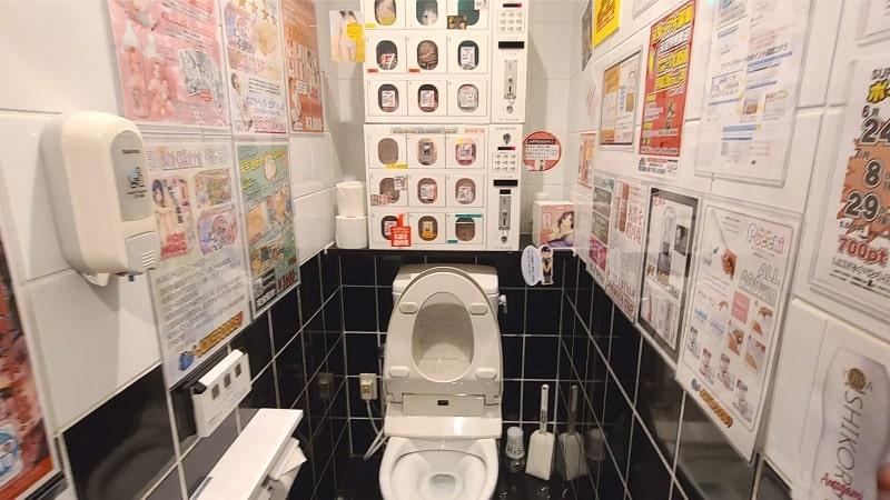 ビデオ館24桶川店のトイレ